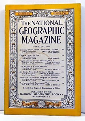 The National Geographic Magazine, 109, Number 2 (February 1956)