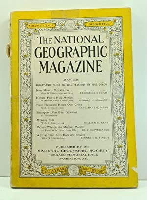 The National Geographic Magazine, Volume 73, Number 5 (May 1938)