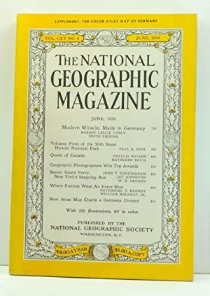 The National Geographic Magazine, Volume 115, Number 6 (June, 1959)