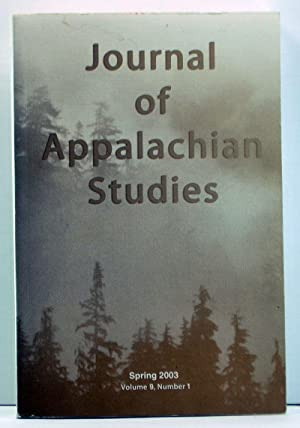Journal of Appalachian Studies, Volume 9, Number: Billings, Dwight B.