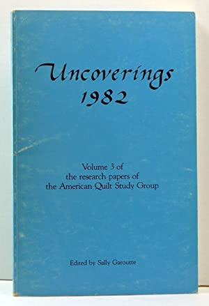Uncoverings 1982: Volume 3 of the Research: Garoutte, Sally (ed.);