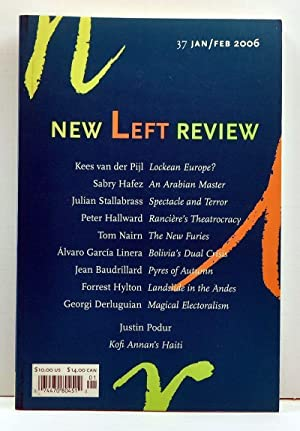 New Left Review Number 37, second series: Watkins, Susan (ed.);