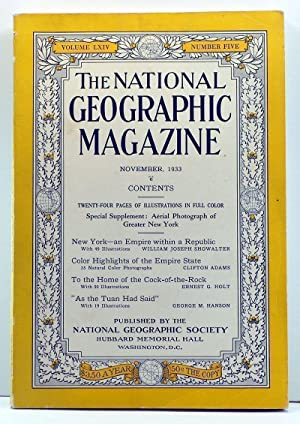 The National Geographic Magazine, Volume 64, Number 5 (November 1933)