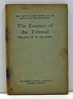 The Essence of the Talmud (Little Blue: Von Keler, Theodore