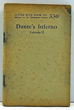 Dante's Inferno, Volume II (Little Blue Book: Alighieri, Dante