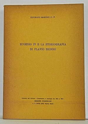 Eugenio IV e la Storiografia di Flavio: Marino, Eugenio