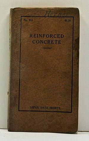 Reinforced Concrete: Lefax Data Sheets No. 618: Various Authors