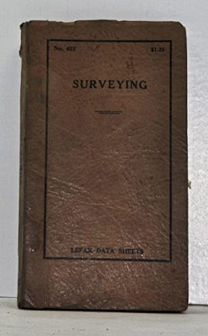 Surveying: Lefax Data Sheets No. 623: Various Authors