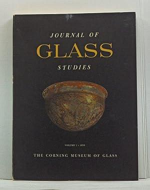 Journal of Glass Studies, Volume 1 (1959): Buechner, Thomas S.