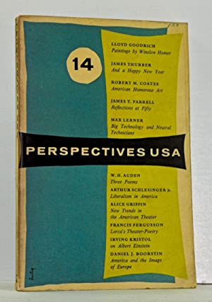 Perspectives USA, Number Fourteen (Winter 1956)