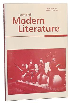 Journal of Modern Literature, Volume 24, Number: Levitt, Morton P.