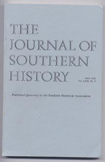 The Journal of Southern History, Volume LVIII (58), Number 2(II), May 1992