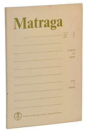 Matraga, Vol. 1, No. 1 (Maio 1987): Riedel, Dirce Côrtes