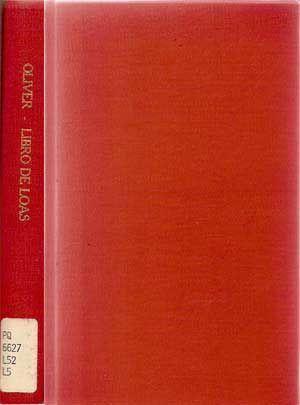 Libro De Loas: Oliver, Antonio