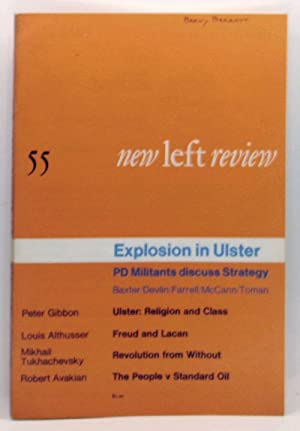 New Left Review 55 (May-June 1969). Explosion in Ulster: PD Militants discuss Strategy; Baxter/De...