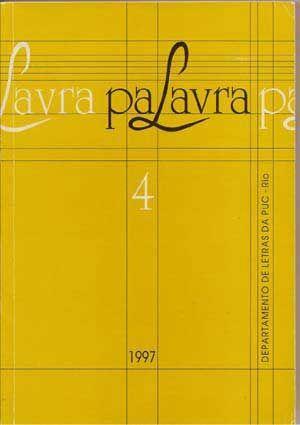 PaLavra No. 4, 1997: Margato, Izabel (ed.)
