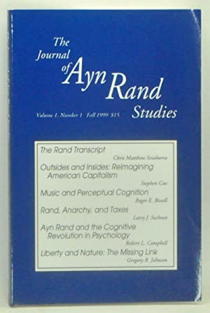 The Journal of Ayn Rand Studies, Volume 1, Number 1 (Fall 1999)