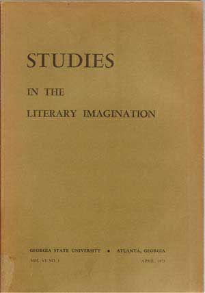Studies in the Literary Imagination, April 1973: Thomas, Mary Olive