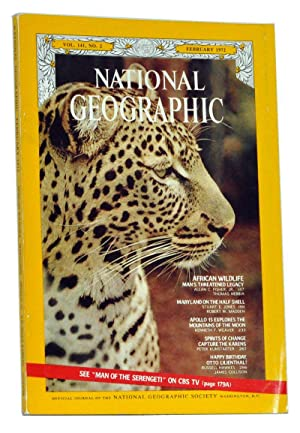 The National Geographic Magazine, Volume 141 (CXLI), No. 2 (February 1972)