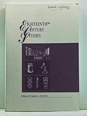 Eighteenth-Century Studies, Volume 28, Number 1 (Fall: Fort, Bernadette (ed.);