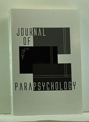 Journal of Parapsychology, Volume 68, Number 2 (Fall 2004)