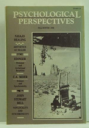 Psychological Perspectives: A Semi-Annual Journal of Jungian Thought. A Journal of Global Conscio...