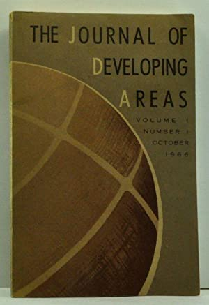 The Journal of Developing Areas, Volume I,: Brown, Spencer H.