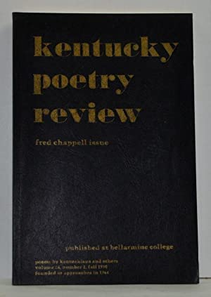 Kentucky Poetry Review (Fred Chappell Issue) Volume: Hall, Wade; Boone,