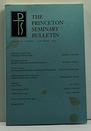 The Princeton Seminary Bulletin, Volume XX, Number: Kay, James F.