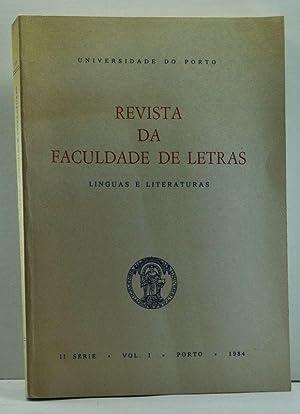 Linguas e Literaturas: Revista da Faculdade de: Carvalho, José Adriano