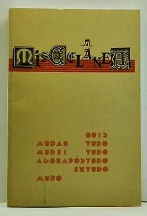 Miscelânea. Revista de Pós-Graduaçâo em Letras: Teoria: Faculdade de Ciências