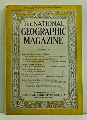 The National Geographic Magazine, Volume 85, Number 1 (January 1944)