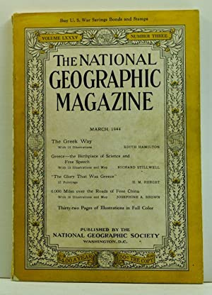 The National Geographic Magazine, Volume LXXXV (85), Number Three (3) (March 1944)