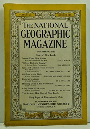 The National Geographic Magazine, Volume XC (90), Number Six (6) (December 1946)