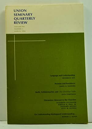 Union Seminary Quarterly Review, Volume 21, Number: Brewster, Charles E.