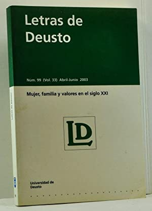 Letras de Deusto, Núm. 99 (Vol. 33),: Ereño Altuna, José