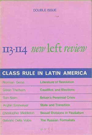 New Left Review 113-114 (January-April 1979): Class Rule in Latin America; Double Issue