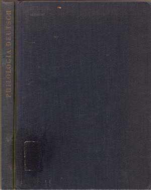 Philologia Deutsch: Festschrift zum 70. Geburtstag von: Kohlschmidt, Werner; Zinsli,
