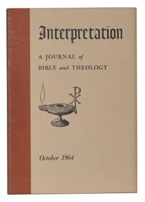 Interpretation: A Journal of Bible and Theology,: Kelly, Balmer H.