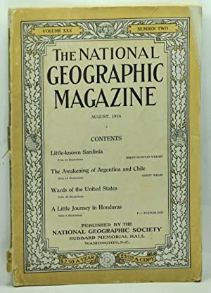 The National Geographic Magazine, Volume XXX, Number Two (August, 1916)