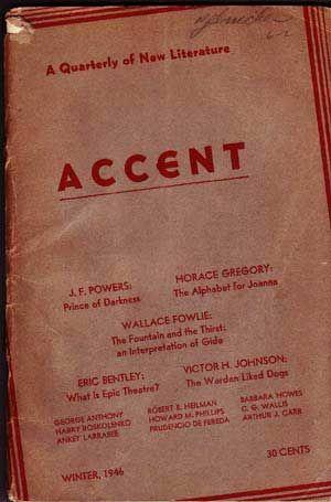 Accent: A Quarterly of New Literature (Winter, 1946)