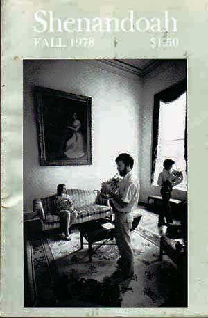 Shenandoah: The Washington and Lee University Review,: Boatwright, James (ed.);