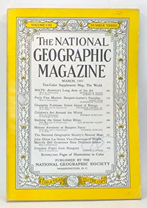 The National Geographic Magazine, Volume CXI, Number Three (March, 1957)