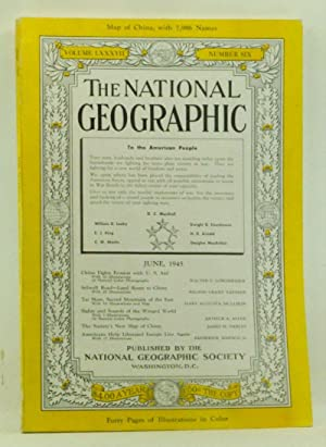 The National Geographic Magazine, Volume LXXXVII (87) Number Six 6 (June 1945)