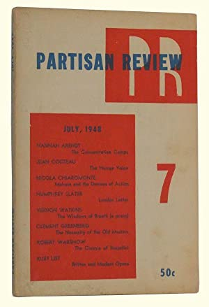 The Partisan Review, Volume XV, Number 7 (July, 1948)