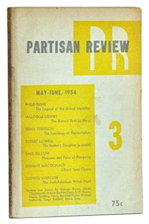 The Partisan Review, Volume XXI, Number 3 (May-June, 1954)