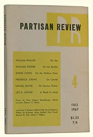 The Partisan Review, Volume XXXIV, Number 4 (Fall, 1967)