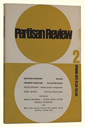 The Partisan Review, Volume XXXIX, Number 2 (Spring, 1972)