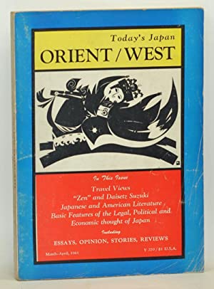 Today's Japan, Orient/West. Volume 6, No. 3-4 (March-April 1961)