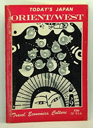Today's Japan, Orient/West. Volume 5, No. 8 (August 1960). Travel, Economics, Culture